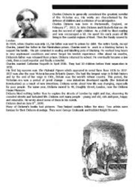 charles dickens biography video worksheet english worksheets charles dickens 180 s biography