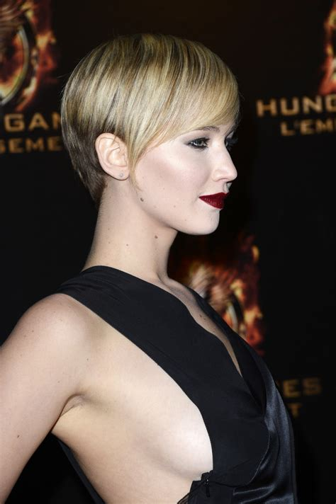 Jennifer Lawrence Catching Fire as a Goth Rock Shock