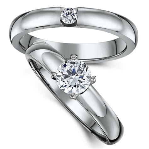 titanium bridal set cz engagement single ring