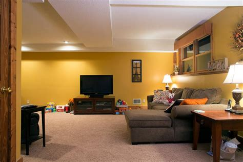 basement living room color ideas 14 basement ideas for remodeling hgtv