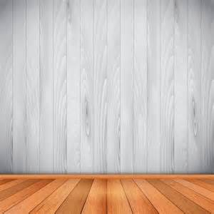empty room with wooden floor and wall vector free download