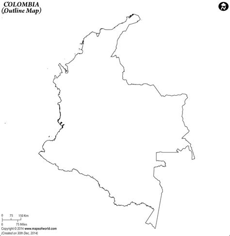 colombia map coloring page blank map of colombia colombia outline map