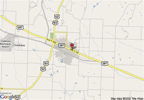 childress texas map map of 8 childress childress