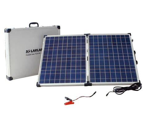 Solar L Post For Rv by Best Portable Solar Power System For Cing Autos Post