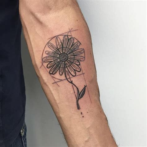 daisy tattoos for men 48 unique tattoos to style your