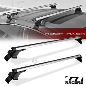 Frame G04 Is universal 50 quot silver oval window frame roof top rack cross bars carrier g04 ebay