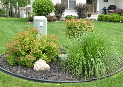 Landscape Ideas To Hide Electrical Box Grand Island Gardeners Develop Landscape At New Build