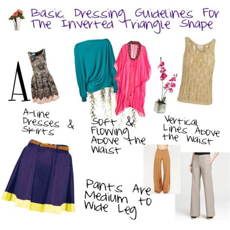 inverted triangle bog stomach 17 best images about wardrobe wisdom wear on pinterest
