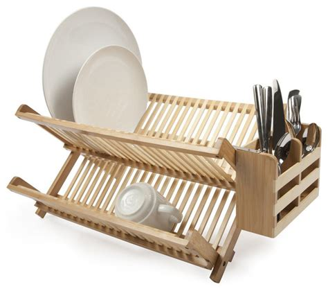 Dish Drainer Rack by Bamboo Dish Drainer Bamboo Craft Photo