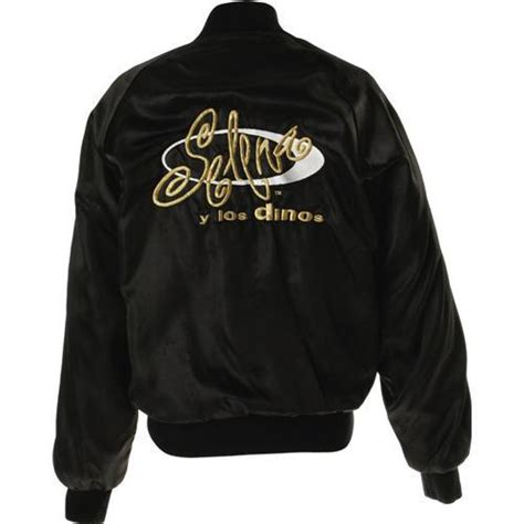 Jaket Selena by Selena Black Satin Tour Jacket