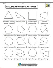 printable 2d shapes and names printable shapes 2d and 3d