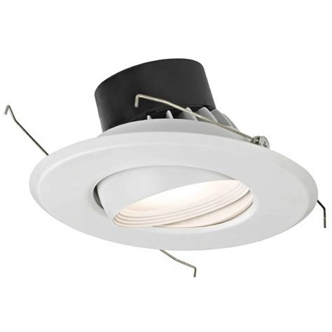 Eyeball Lighting Fixtures Dimmable Led Retrofit Adjustable Eyeball Recessed Light Module 10906 05 Destination Lighting