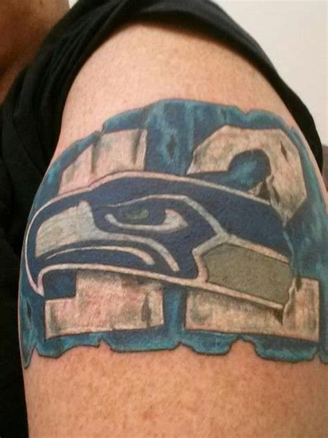 seahawks tattoo seahawks tattoos