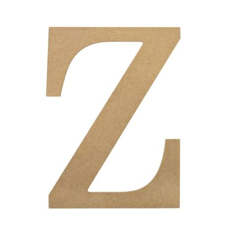 Decorative Wood Letters by 10 Quot Decorative Wood Letter Z Ab2050 Craftoutlet