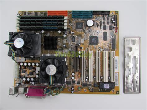 Ram 2gb Untuk Pentium 4 abit vp6 1 0 motherboard 2x pentium 3 500mhz cpu 2gb ram hsf i o plate ebay