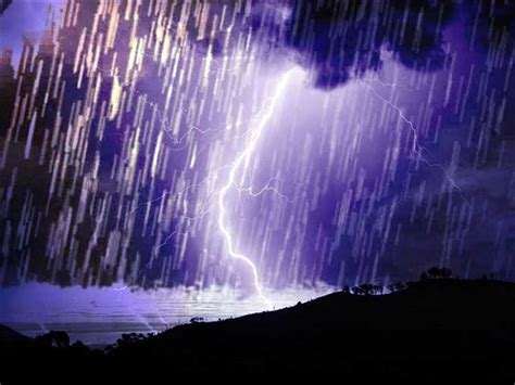 Shower Thunderstorm by Poem A D Winans