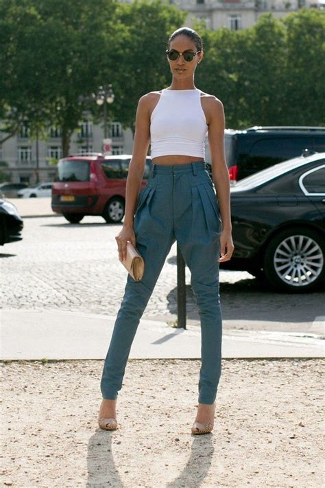 Trendy Outfit Idea with High Waisted Pants   Pretty Designs