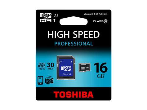 Toshiba Microsdhc Class 10 16 Gb toshiba microsdhc speicherkarte 16gb class 10 uhs i