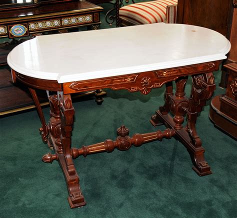 antique marble top tables prices pair of antique marble top accent tables for sale