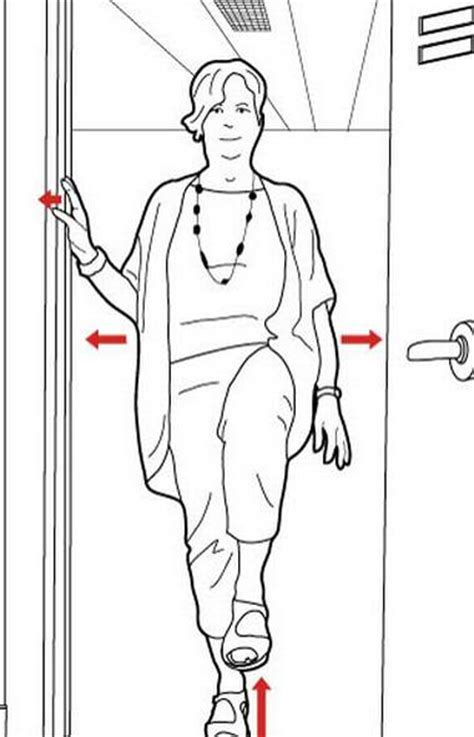 do door frame fans work stealth workout how to use the door frame to work on your