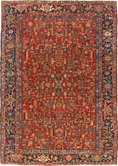 Persian Antique Heriz Rug 59c2061 Antique Rugs Prices