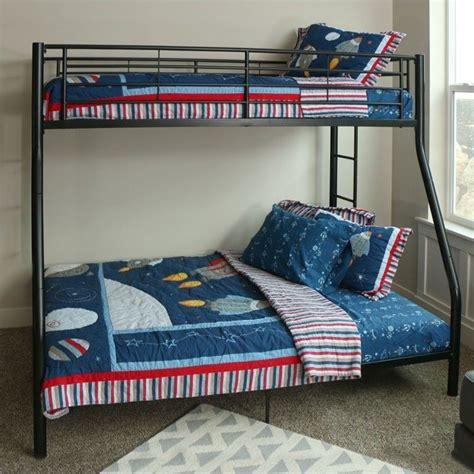 Furniture Stores That Sell Bunk Beds Walker Edison Sunset Metal Metal Bunk Bed In Black Btodbl