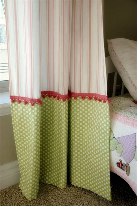 how to add length to curtains creative ways to extend the length of your panels