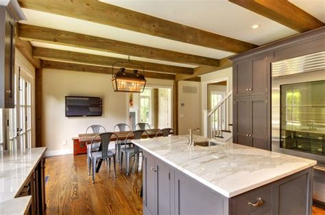 Kitchen Faucets Hands Free The Latest Trends In Post And Beam Kitchens