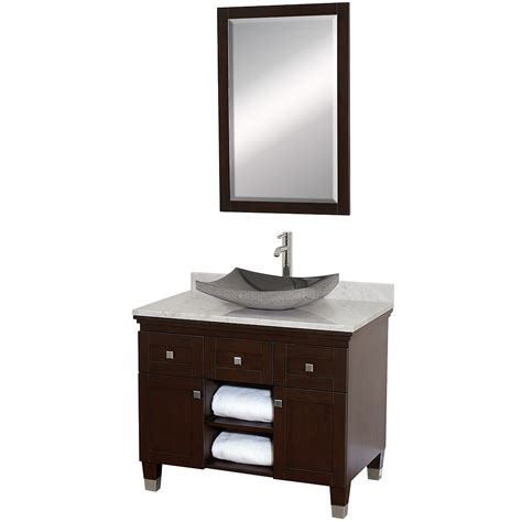 Espresso Bathroom Vanities 36 Quot Premiere 36 Espresso Bathroom Vanity Bathroom Vanities Bath Kitchen And Beyond