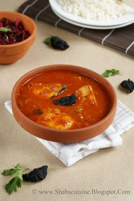 Malabar Kitchen Recipes shab s cuisine malabar kannur fish curry tangy and tasty