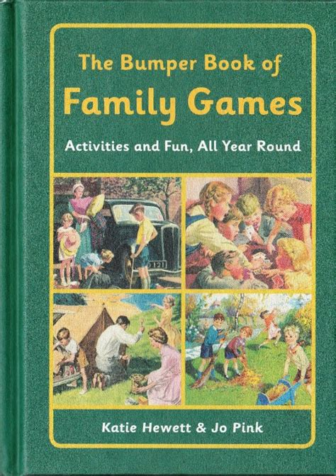 the bumper book of the bumper book of family games activities and fun all year round hardback new