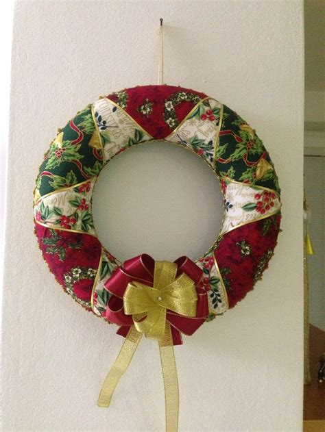 Patchwork Wreath Pattern - viano芻n 253 patchworkov 253 ven芻ek patchwork wreath