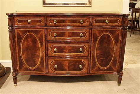 small antique mahogany dining room sideboard buffet replica