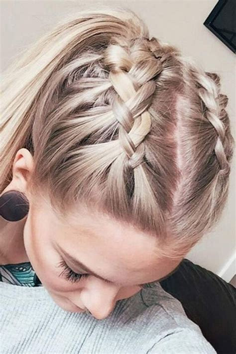 braided hairstyles self trendy braid ponytail pictures photos and images for