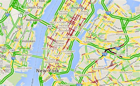 nyc traffic map what is big data
