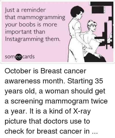 just a reminder that mammogramming your boobs is more