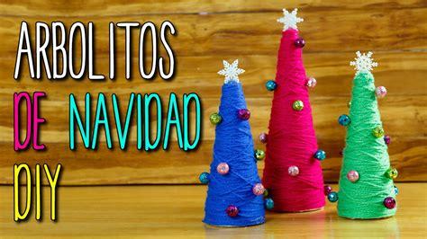arboles de navidad originales manualidades mini arbolitos de navidad creativos para decorar