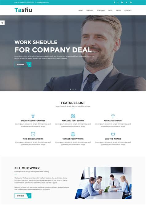 70 Best Business Website Templates Free Premium Freshdesignweb Html Business Templates