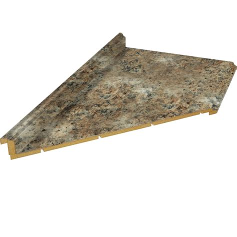 10 Foot Laminate Countertop by Shop Belanger Laminate Countertops 10 Ft Madura Gold