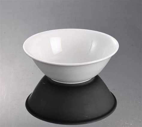 Mangkok Keramik Cereal Bowl 11 oz plain white breakfast dinner serving ceramic porcelain cereal rice food fruit