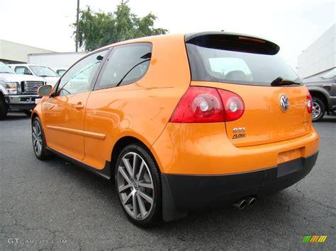 orange volkswagen gti 2007 fahrenheit orange volkswagen gti 2 door fahrenheit