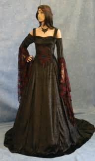 gothic dress renaissance dress medieval dress by camelotcostumes