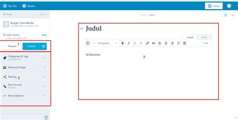 membuat blog online shop gratis langkah mudah membuat blog gratis di wordpress tutorialpedia