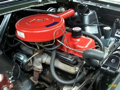 1965 mustang 200 engine 1965 ford mustang coupe 200 c i inline 6 cylinder engine