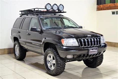 2003 Jeep Grand Roof Rack by 1j4gw58n63c606345 2003 Jeep Grand Limited Quadra Drive Lifted Roof Rack Leather Clean