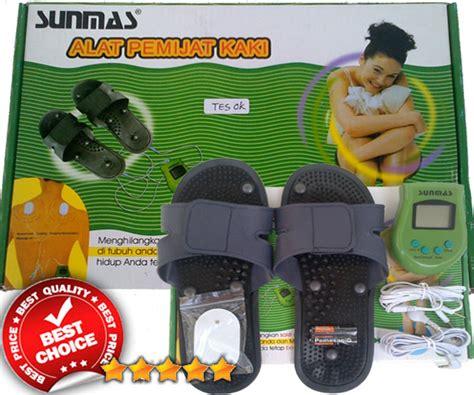 Alat Pijat Refleksi Sunmas foot massager sunmas sandal elektrik alat pijat kaki dan