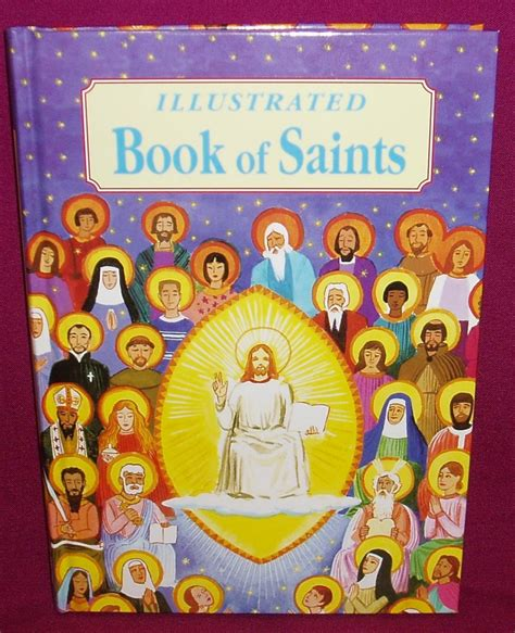picture book of saints illustrated book of saints southern cross church supplies