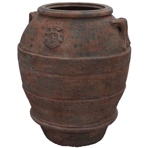 jar planters 19th century large tuscan garden jar planters at 1stdibs