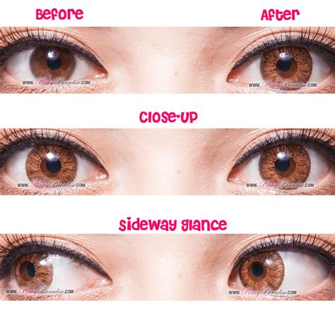 N 8 Hazel hazel circle lenses colored contacts pinkyparadise