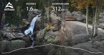alberta falls trail colorado maps 346 photos 355